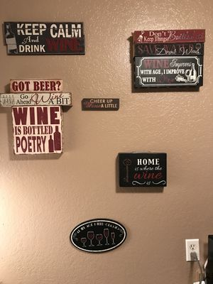 Awesome wine 🍷 sayings! for Sale in Santa Monica, CA
