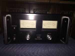 RARE Vintage Sansui BA 5000 Power Amp for Sale in Sun Lakes, AZ