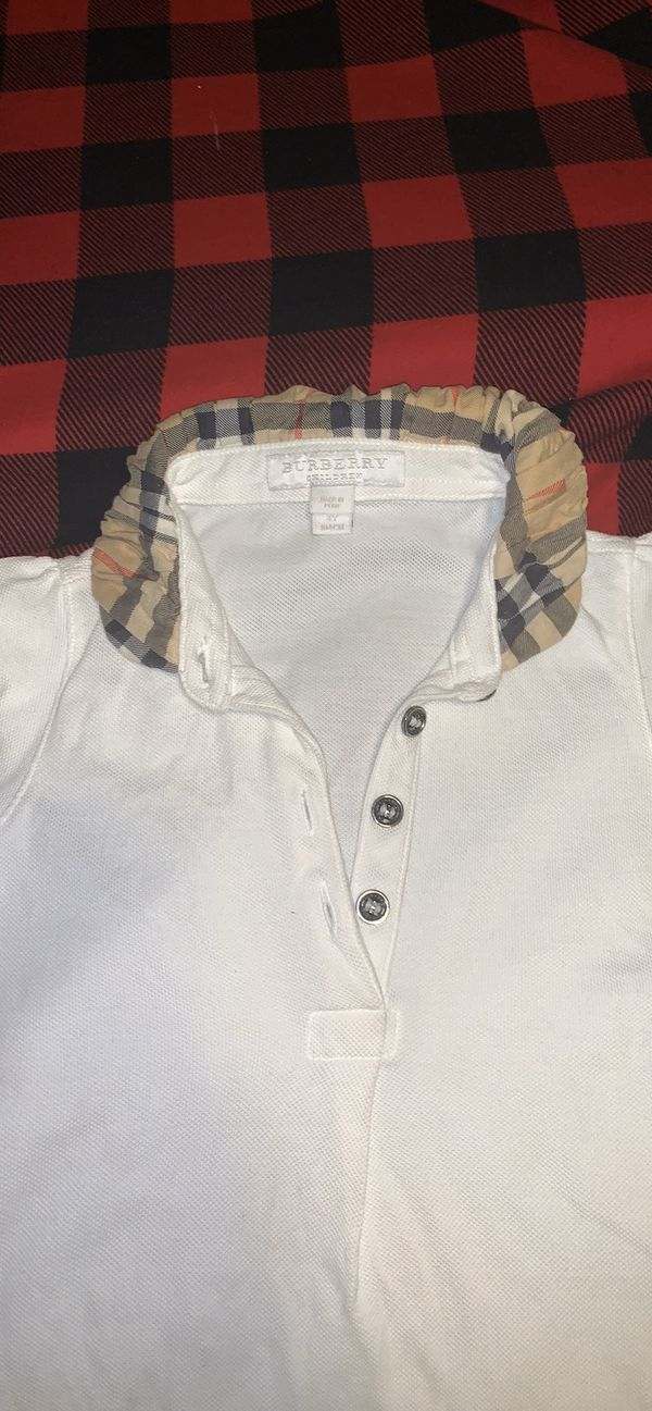 Girls Burberry Shirt Size 4y