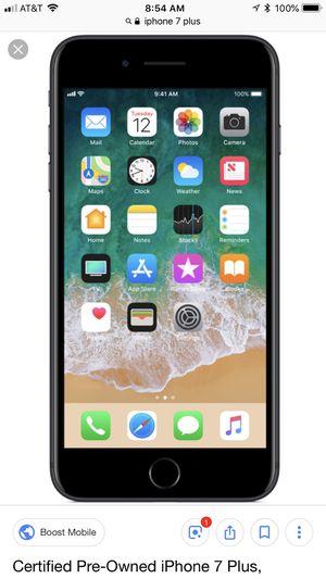 iPhone 7 Plus unlocked 128GB (warranty) for Sale in Houston, TX