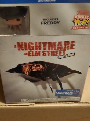 bluray a nightmare on elm street collection with freddy keychain blu ray brand new