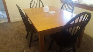 Dining Table With 4 Chairs for Sale in Salt Lake City, UT