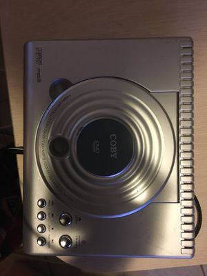 Coby DVD player high resolution/dvd/cd/mp3/cd-RW Player for Sale in Port Richey, FL