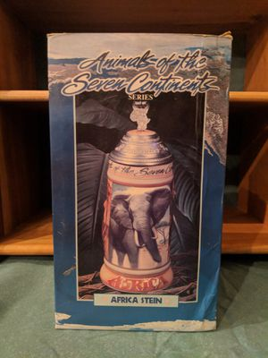 Budweiser Stein. Animals of the Seven Continents. Africa Edition for Sale in Kalkaska, MI