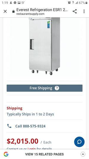 Everest refrigerator inder warranty for Sale in Norfolk, VA
