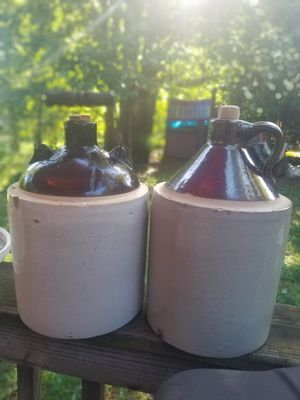 Antique salt-glazed crocks/moonshine jugs for Sale in Shenandoah, VA