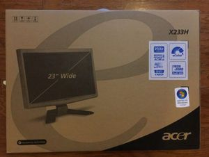 """23"""" Monitor for Sale in Washington, DC"""