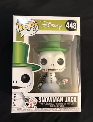 Funko Pop! The Nightmare Before Christmas Snowman Jack for Sale in Fountain Valley, CA