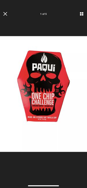 Paqui Carolina Reaper Madness One Chip Challenge Tortilla Chip - 2020 VERSION for Sale in Lake Worth, FL