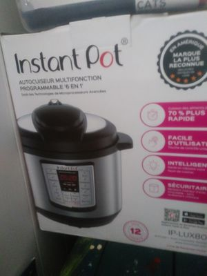 Instant pot for Sale in Olympia, WA