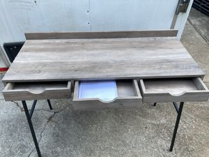 3 draw writing desk for Sale in Pelzer, SC