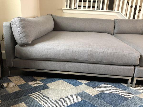 Ventura Extra Deep Sofa Bella Grey For Sale In Dallas Tx