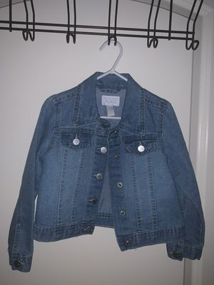 Children place denim jacket for Sale in Houston, TX