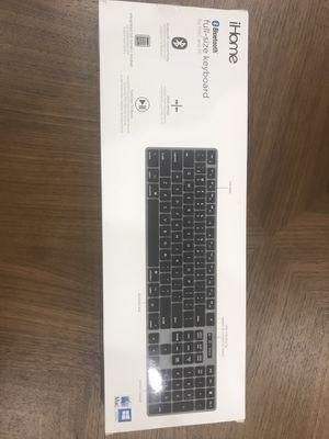 IHome bluetooth full-size keyboard for Sale in Tampa, FL