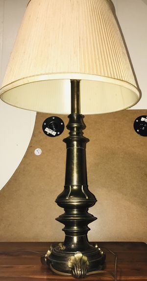 Vintage Large Mid Century / Hollywood Regency Brass Stiffel Table Lamp for Sale in UPPR MORELAND, PA