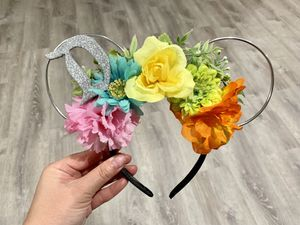 Classic retro flower mouse ears for Sale in Cypress, CA