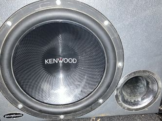 """12"""" Sub Woofer Kenwood Brand & Box for Sale in Harrison,  NY"""