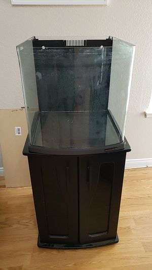 Reef tank 28g nano cube aio for Sale in Riverside, CA