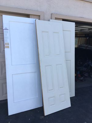3 brand new interior doors for a great price yes still available for Sale in Buena Park, CA