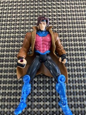 "1996 Marvel Toybiz Gambit X-Men Action Figure Used Comic Toy 5"" for Sale in Fayetteville, NC"