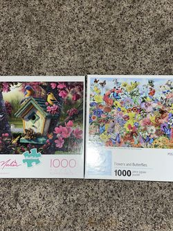 Two 1000 Piece Puzzles for Sale in Fairfax,  VA