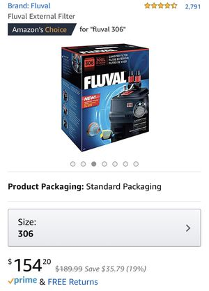 Fluval 306 Under Cabinet Aquarium Filter for Sale in Westchester, IL
