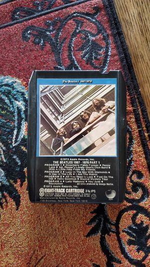 The Beatles 1967-1970 Eight-Track Cartridge for Sale in Riverside, CA