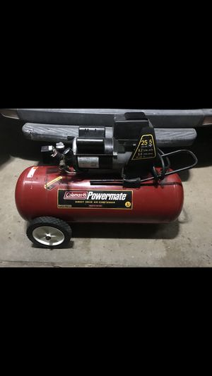 25 gallon powermate compressor for Sale in Webster Groves, MO