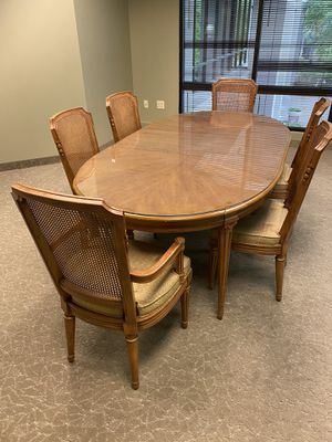 Dining table and six chairs for Sale in Scottsdale, AZ