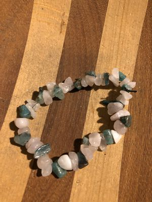Rose Quartz and chyroscolla stone bracelet for Sale in Stockton, CA