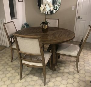 Rustic dining table and chairs for Sale in Hayward, CA
