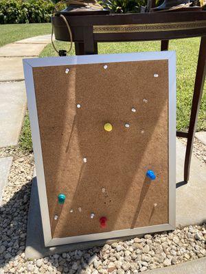 cork board with pins for Sale in Miami, FL