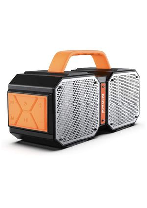 Bluetooth Speakers, Waterproof Outdoor Speakers Bluetooth 5.0,40W Wireless Stereo Pairing Booming Bass Speaker,2400 Minutes Playtime with 8000mAh Pow for Sale in Corona, CA