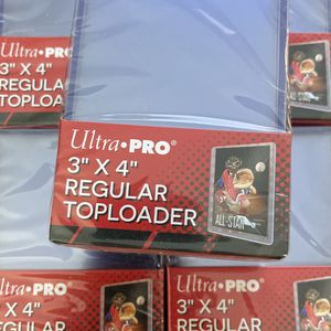 5 UltraPro Top Loaders Packs Of 25 for Sale in The Bronx, NY
