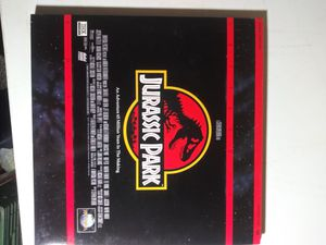 Jurassic Park Laserdisc for Sale in Yonkers, NY
