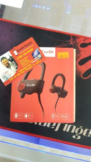 ZonEx Bluetooth Headphones, Wireless Sports Earphones w/Mic IPX7 for Sale in Hialeah, FL