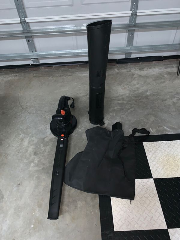 Black + Decker Electric Leaf Blower and Leaf Vacuum
