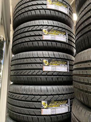 265/35/22 new tires. Call R text for price for Sale in Stockton, CA