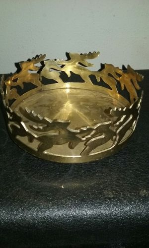 Brass tray for Sale in Lynchburg, VA