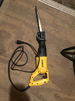 Dewalt 12 amp reciprocating saw for Sale in Lakeside, CA