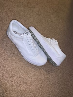 White Vans (with laces) for Sale in Watsonville, CA