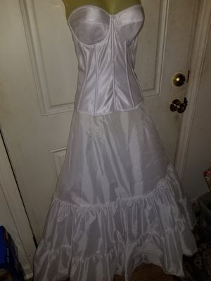 Wedding dress slip and corset for Sale in Elon, NC