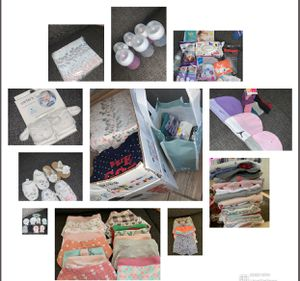 Baby clothes, bottles, diapers for Sale in Buckeye, AZ