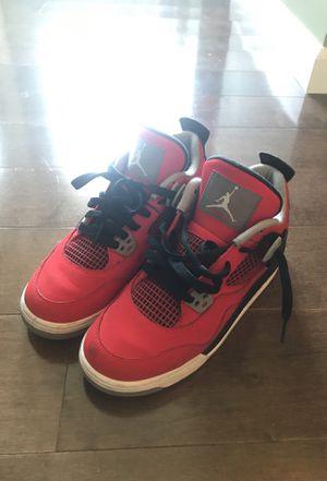 Nike Air Jordan 4 IV Retro Toro Bravo Red Black Gray size 5y for Sale in Germantown, MD