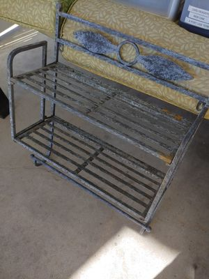 Folding Metal Wall Rack for Sale in St. Louis, MO