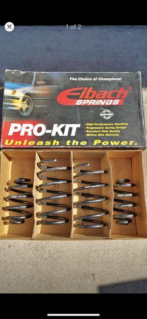 E36 non m springs (eibach) for Sale in Long Beach, CA