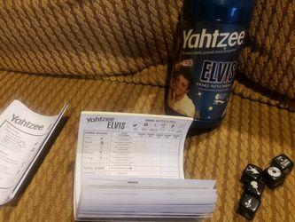 Yahtzee Elvis Edition 75 Year Anniversary for Sale in Manteca,  CA
