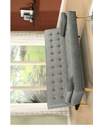 💧🏕Neva Gray Futon for Sale in Houston, TX