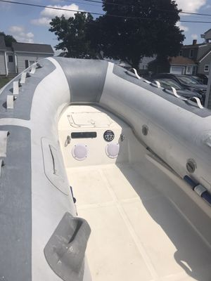 11ft west marine inflatable boat for Sale in Providence, RI