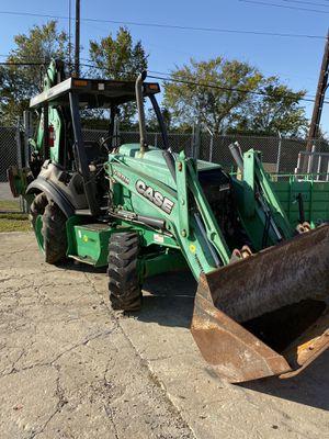 2013 CASE 580N backhoe bad motor for Sale in Houston, TX